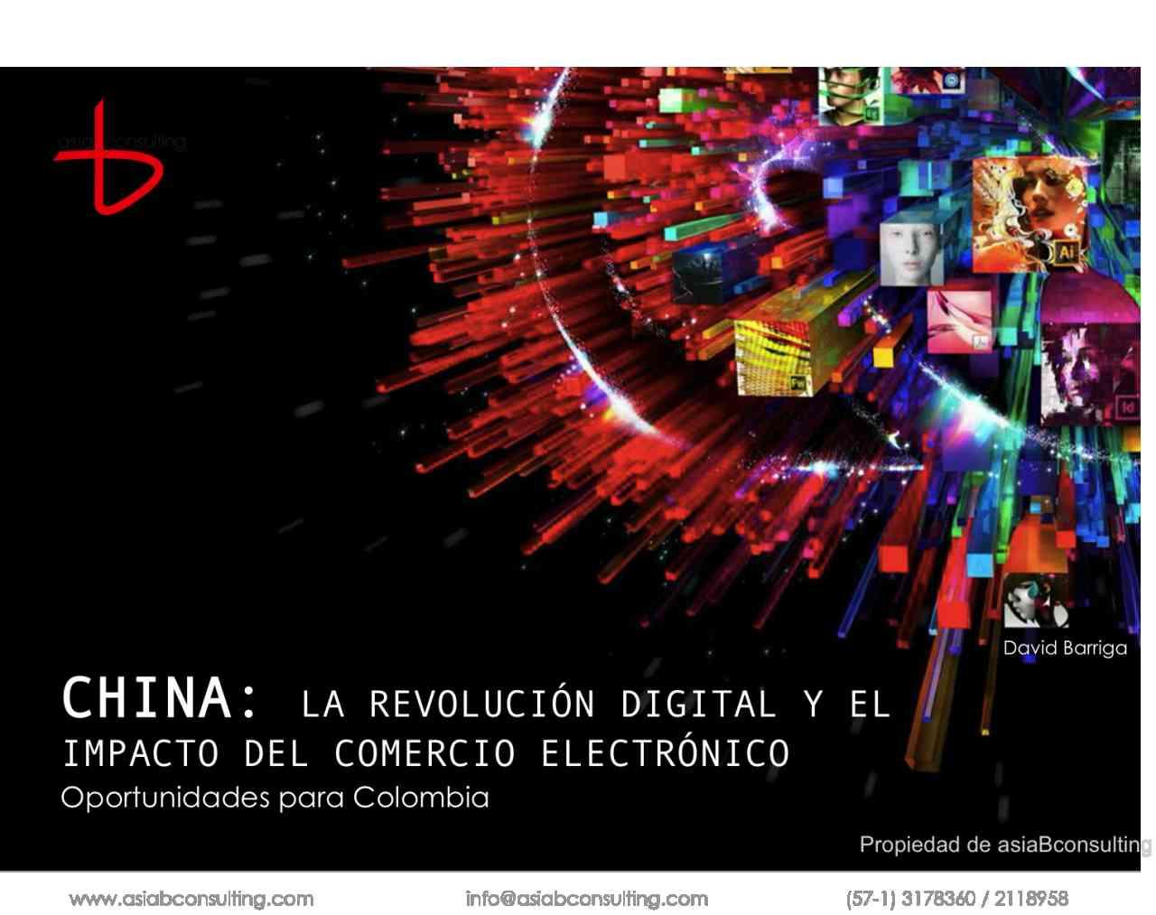 imagen portada China: La revolución digital y el impacto del comercio electrónico