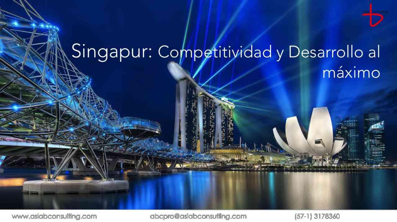 imagen portada Singapur: Competitividad y Desarrollo al máximo nivel